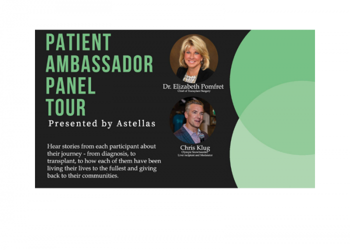 Patient Ambassador Panel Tour
